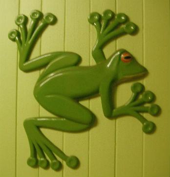 large-carved-mdf-wallfrog